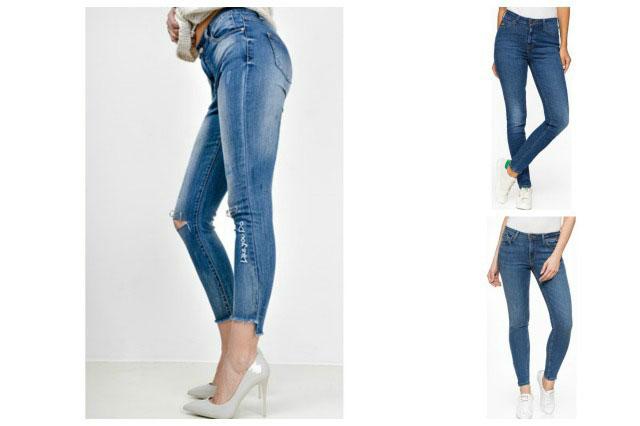 jeansy dla klepsydry
